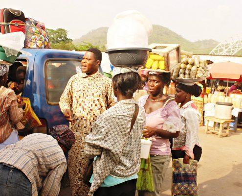 Tro Tro in Accra